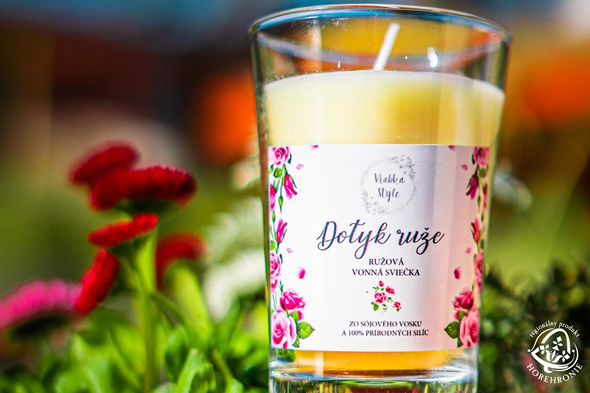 Sójové sviečky Vrabka Style